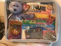 Beanie baby bag