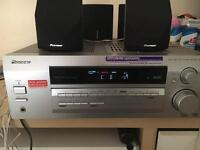 Pioneer 5.1 Chanel AV Receiver with speakers home cinema