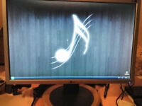 LG monitor 20 inch MINT condition with power and VGA cables