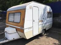 SPRITE 2 BERTH CARAVAN IN VERY GOOD CLEAN CONDITION ALL PAPERWORK AVAILABLE £550
