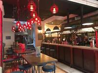 Floor and bar staff wanted for city centre bar