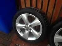 Astra j alloy wheels