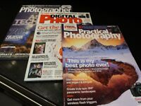 Collection of 77 photography magazines in great condition - loads of useful articles.