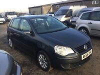 55 REG VW POLO 1390 cc ENGINE IN NICE CLEAN CONDITION ALLOYS AIR CON CD LONG MOT GOOD DRIVER PX WELC