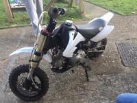 Slam 70cc pitbike