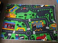 Children's car rug