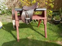 Purpose made 3 ft 6 Saddle horse