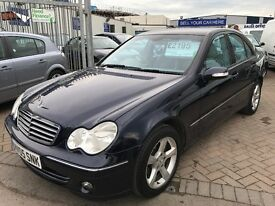 2005 05 MERCEDES C200 KOMPRESSOR AVANTGARDE AUTOMATIC VERY GENUINE CAR SUPERB DRIVE LUXURY CAR !!!