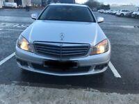 Mercedes c-class 220 cdi 2008 auto**cheap car full year mot**