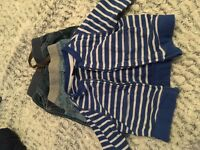 Bundle boys baby clothes. Age 3 to 6months includes ted baker bomer jacket and jeans never worn