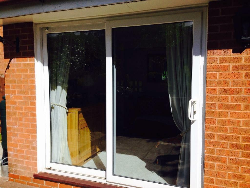 White patio doors for sale in alton hampshire gumtree for Patio doors for sale
