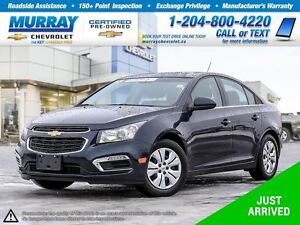 2016 Chevrolet Cruze LT 1LT *Remote Start, Rear View Camera*