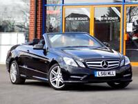 MERCEDES-BENZ E CLASS 2.1 E250 CDI BLUEEFFICIENCY SPORT ED125 2dr Convertible (204) (black) 2011