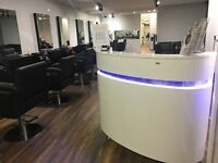 Chair to rent for an experienced hairdresser in our Luxury Cambridge Salon