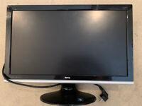 BenQ E2220HD LCD monitor Full HD (1080p) 21.5 inch + Logitech stereo speakers Z520 - £50 ono