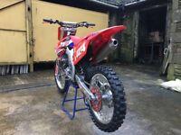 Honda crf450 2010