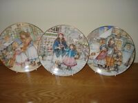 Royal Worcester NSPCC Christmas Plates