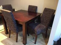 Dining table &chairs