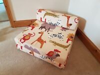 Single sofa bed - jungle themed - matching bean bag and toy box also available