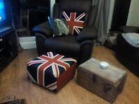 Uptownfunkyjunk retro footstool