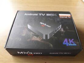 MXQ Pro 4K Android Box
