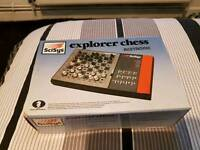 Electronic Scisys Explorer Chess Set