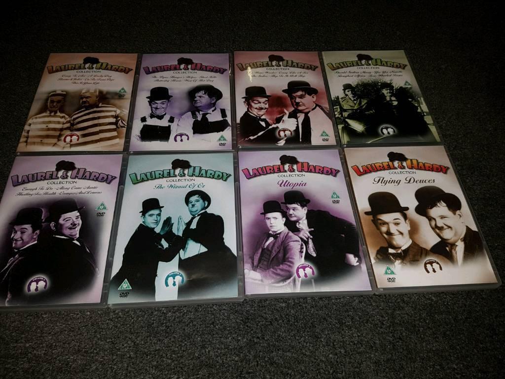 Laurel and Hardy dvd boxset