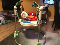 Jumperoo & rocking chair