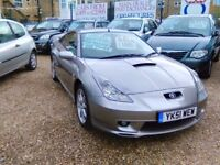 2001 Toyota celice 1.8 petrol only one owner from now 70.000 miles very very tidy car inside and out