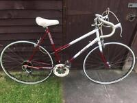 Vintage Raleigh ladies road racing touring city town bike - immaculate condition