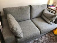 Next 2 seater settee- one year old- fab condition