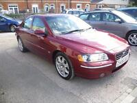 VOLVO S60 D5 SE 4dr Geartronic [185] (red) 2006