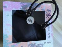 The Sak Bellagio Tote, Dark Brown, Lovely soft leather, Boxed. Cost €53 except €35