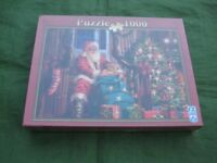 Brand New Schmid A Christmas Treat 1000 Piece Jigsaw Puzzle