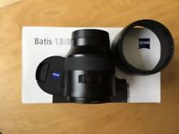 CARL ZEISS BATIS 85MM - SONY E MOUNT - BOXED - IMMACULATE