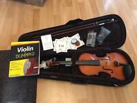 Stentor 4/4 violin full set with extras