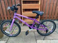 """Girls 18"""" lightweight 'Wild' bike"""