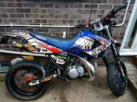 Yamaha DT 125RE DEP Exhaust system