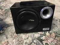 Vibe sub woofer amplifier and wiring kit subwoofer amp