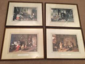 4 framed prints