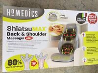Homedics ShiatsuMAX Back and Shoulder Massager with Heat Boxed Excellent Condition