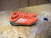 Adidas Techstar 111 field + track unisex running spikes size uk 10