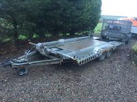 Car trasporter trailer hire Glasgow, Cumbernauld, Falkirk, Denny