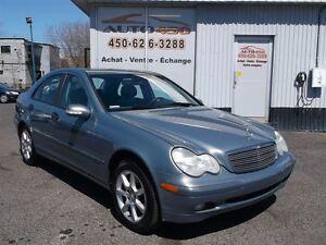 2004 Mercedes-Benz C-Class C-230 ***CUIR/TOIT OUVRANT***