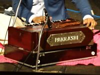 Harmonium and Indian Style Keyboard Teacher with or without Vocal lessons