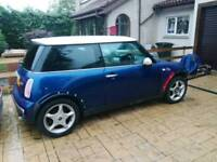 BMW Mini Cooper rolling shell