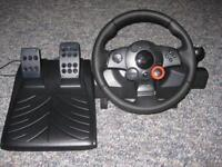 Driving force gt pc ps3 steering wheel force feedback