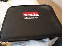 Makita plus accessories - barely used, perfect condition