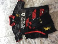 Football Liverpool away kit small boys