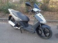 Kymco agility city 125. V quick + relaible. Fantastic condition. Brand New mot. Superb runner. £595.